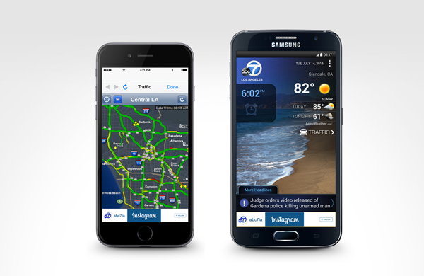 ABC7 Los Angeles Alarm Clock App