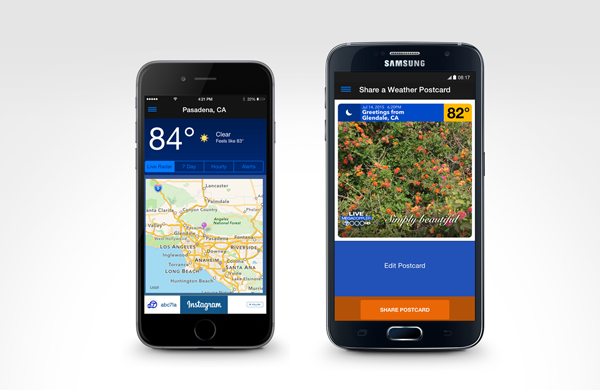 MEGADOPPLER - ABC7 LA Weather App
