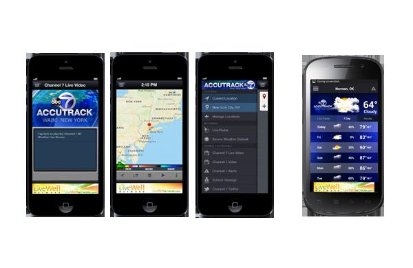 AccuTrack WABC NY Weather App