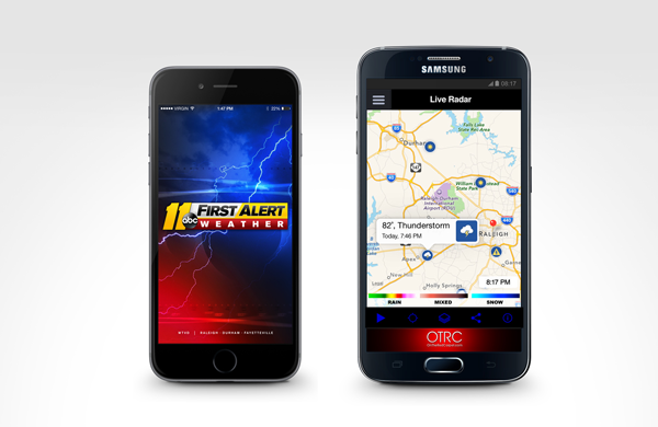 ABC11 First Alert Weather App