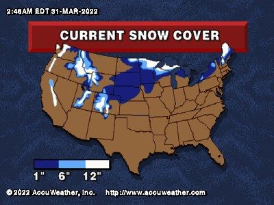 Snowfall Map
