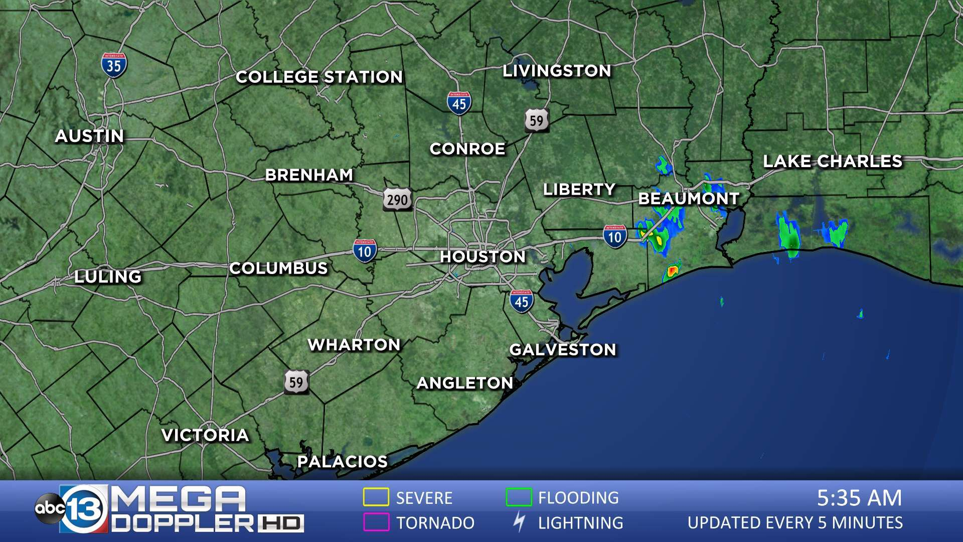 Houston Area Radar