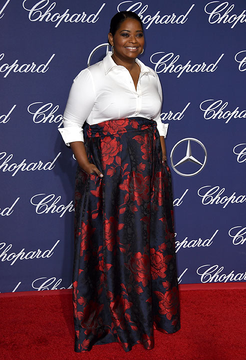 "<div class=""meta image-caption""><div class=""origin-logo origin-image none""><span>none</span></div><span class=""caption-text"">Octavia Spencer arrives at the 28th annual Palm Springs International Film Festival Awards Gala on Monday, Jan. 2, 2017, in Palm Springs, Calif. (Jordan Strauss/Invision/AP)</span></div>"