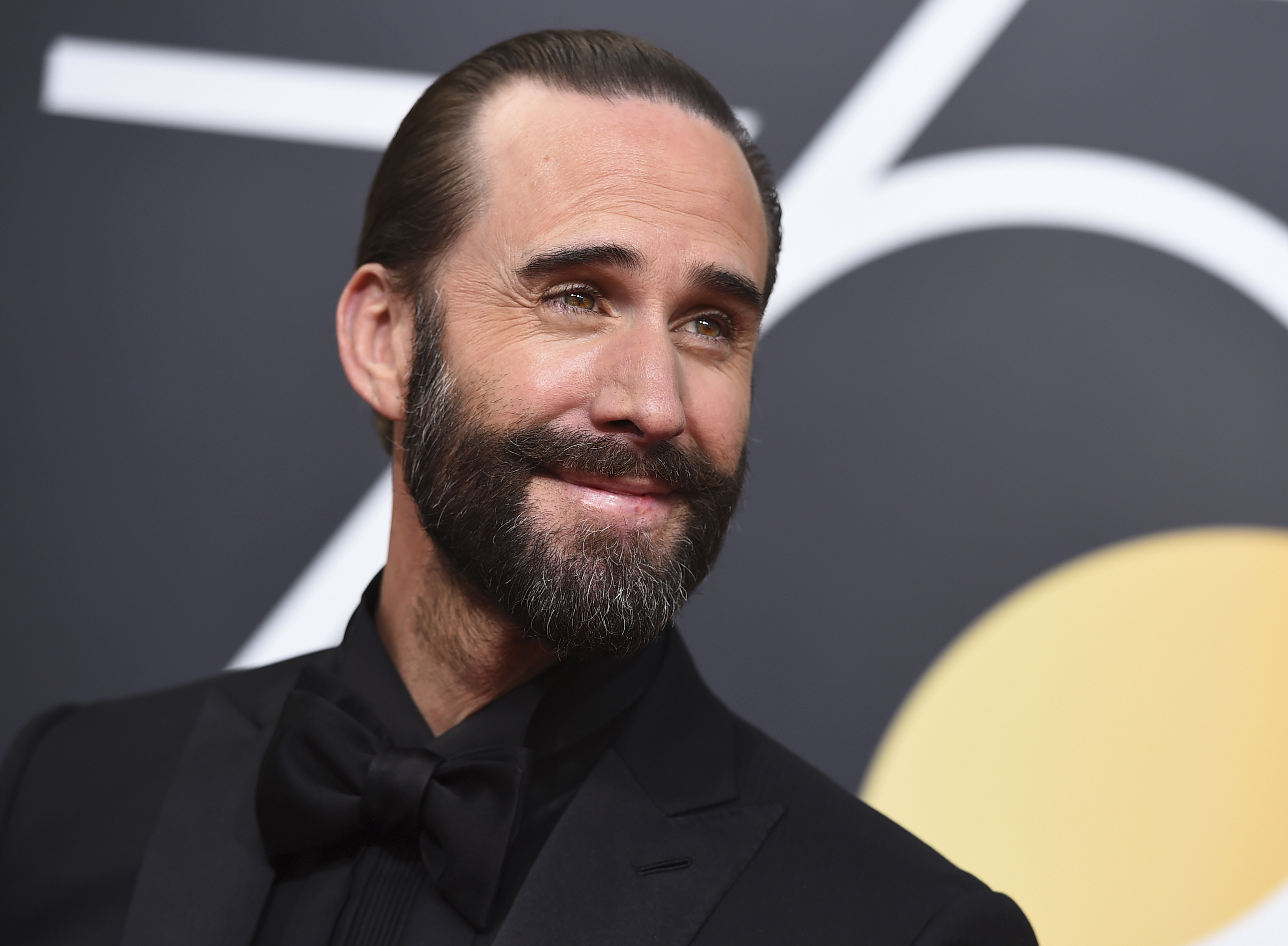 <div class='meta'><div class='origin-logo' data-origin='AP'></div><span class='caption-text' data-credit='Jordan Strauss/Invision/AP'>Joseph Fiennes arrives at the 75th annual Golden Globe Awards at the Beverly Hilton Hotel on Sunday, Jan. 7, 2018, in Beverly Hills, Calif.</span></div>