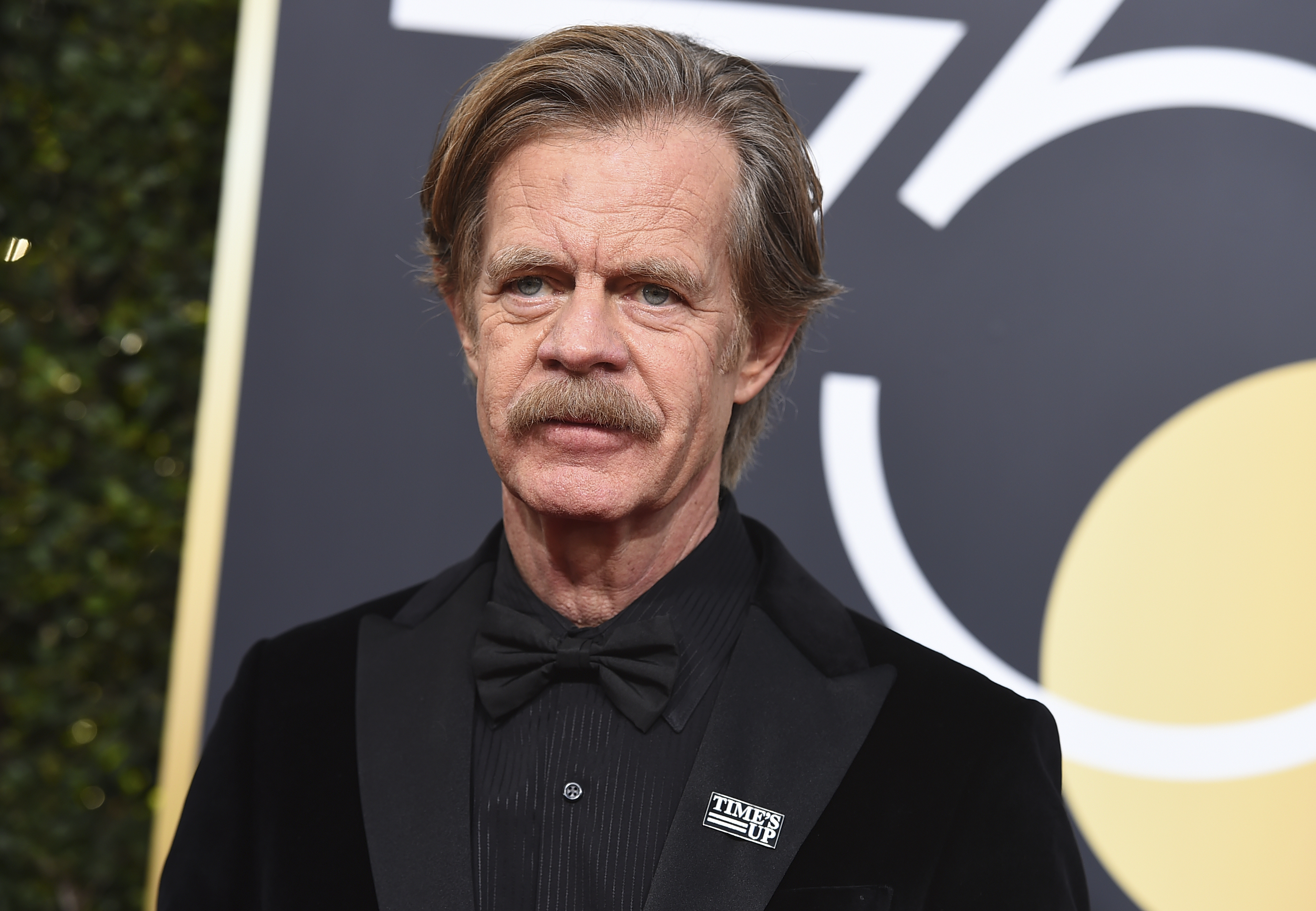 <div class='meta'><div class='origin-logo' data-origin='AP'></div><span class='caption-text' data-credit='Jordan Strauss/Invision/AP'>William H. Macy arrives at the 75th annual Golden Globe Awards at the Beverly Hilton Hotel on Sunday, Jan. 7, 2018, in Beverly Hills, Calif.</span></div>