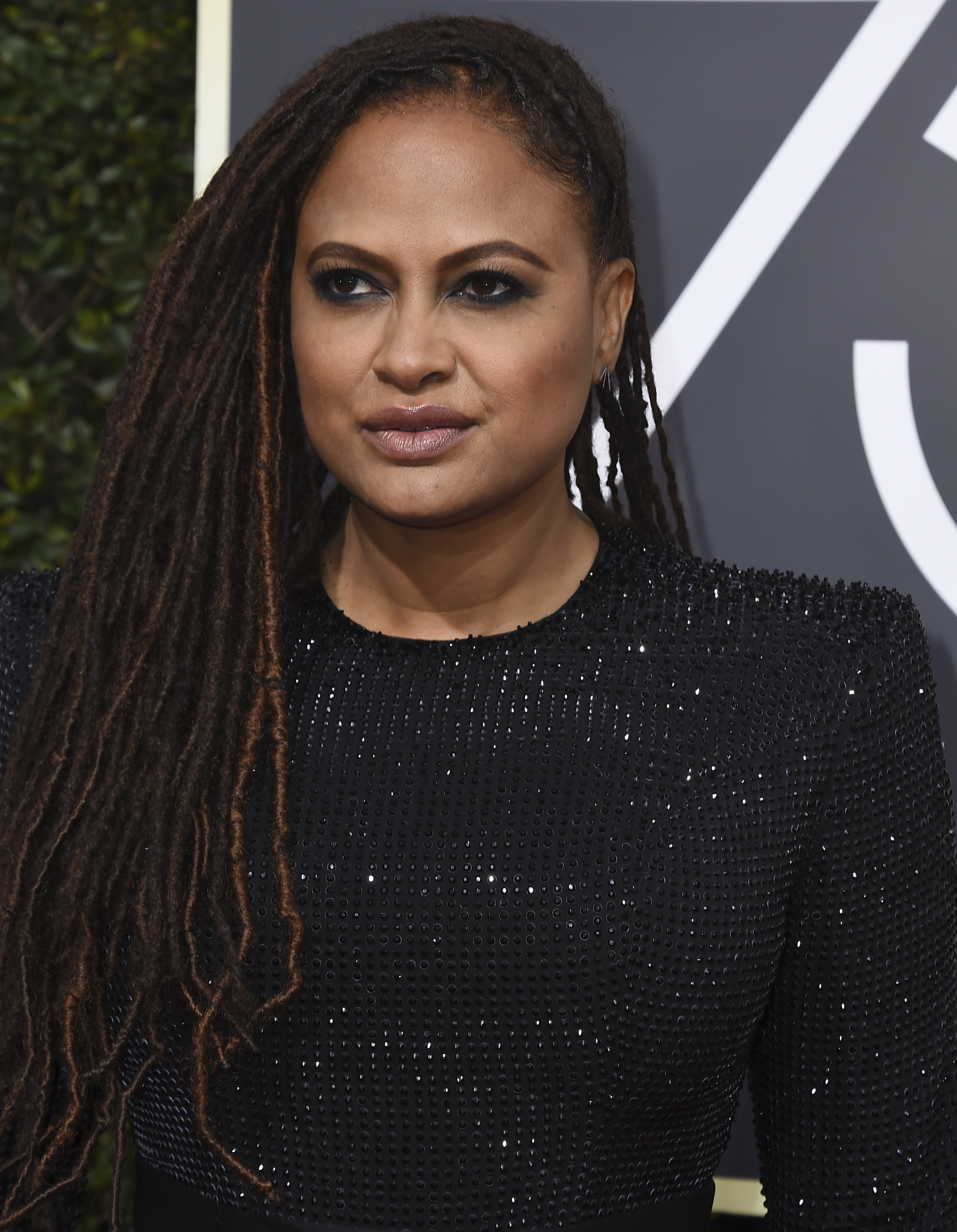 <div class='meta'><div class='origin-logo' data-origin='AP'></div><span class='caption-text' data-credit='Jordan Strauss/Invision/AP'>Ava DuVernay arrives at the 75th annual Golden Globe Awards at the Beverly Hilton Hotel on Sunday, Jan. 7, 2018, in Beverly Hills, Calif.</span></div>