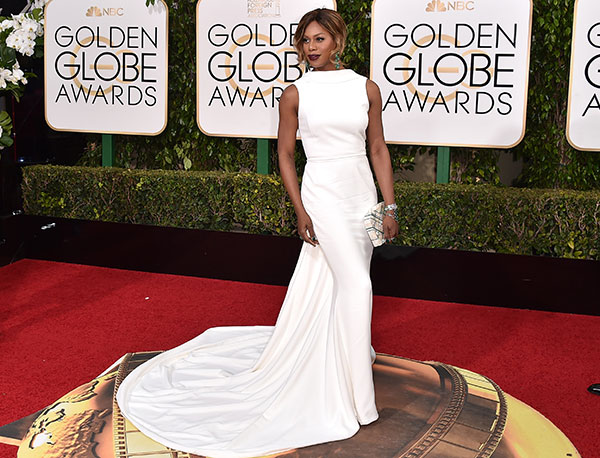 "<div class=""meta image-caption""><div class=""origin-logo origin-image none""><span>none</span></div><span class=""caption-text"">Laverne Cox arrives at the 73rd annual Golden Globe Awards on Sunday, Jan. 10, 2016, at the Beverly Hilton Hotel in Beverly Hills, Calif. (Jordan Strauss/Invision/AP)</span></div>"