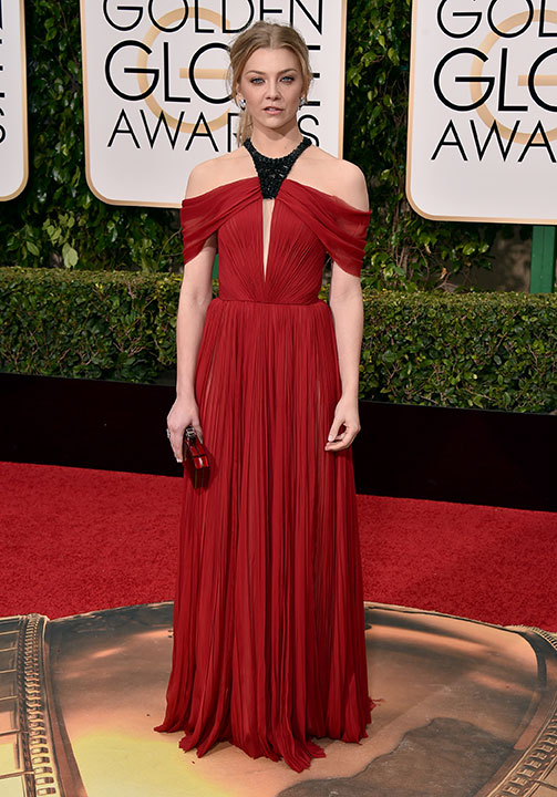 "<div class=""meta image-caption""><div class=""origin-logo origin-image none""><span>none</span></div><span class=""caption-text"">Natalie Dormer arrives at the 73rd annual Golden Globe Awards on Sunday, Jan. 10, 2016, at the Beverly Hilton Hotel in Beverly Hills, Calif. (Jordan Strauss/Invision/AP)</span></div>"
