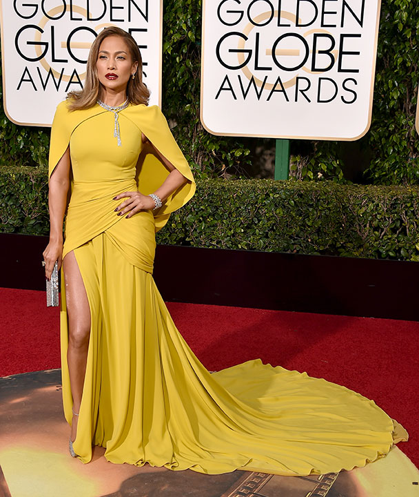 "<div class=""meta image-caption""><div class=""origin-logo origin-image none""><span>none</span></div><span class=""caption-text"">Jennifer Lopez arrives at the 73rd annual Golden Globe Awards on Sunday, Jan. 10, 2016, at the Beverly Hilton Hotel in Beverly Hills, Calif. (Jordan Strauss/Invision/AP)</span></div>"