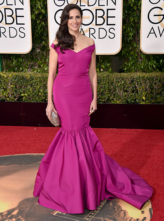 "<div class=""meta image-caption""><div class=""origin-logo origin-image none""><span>none</span></div><span class=""caption-text"">Michaela Watkins arrives at the 73rd annual Golden Globe Awards on Sunday, Jan. 10, 2016, at the Beverly Hilton Hotel in Beverly Hills, Calif. (Jordan Strauss/Invision/AP)</span></div>"