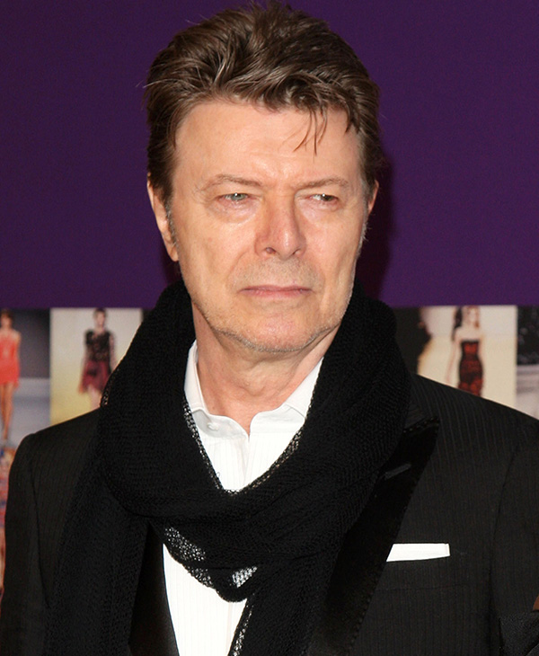 <div class='meta'><div class='origin-logo' data-origin='AP'></div><span class='caption-text' data-credit='AP Photo/Peter Kramer, File'>David Bowie died Sunday, Jan. 10, 2016, after battling cancer for 18 months. He was 69.</span></div>