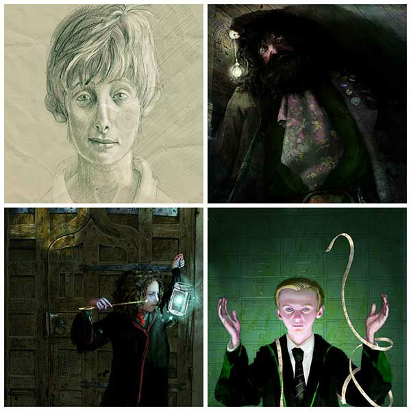new harry potter character illustrations revealed 6abc
