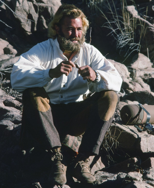 <div class='meta'><div class='origin-logo' data-origin='none'></div><span class='caption-text' data-credit='NBC/NBCU Photo Bank via Getty Images'>Dan Haggerty, best known for his role as Grizzly Adams, passed away Friday, Jan. 15, 2016 at the age of 74.</span></div>