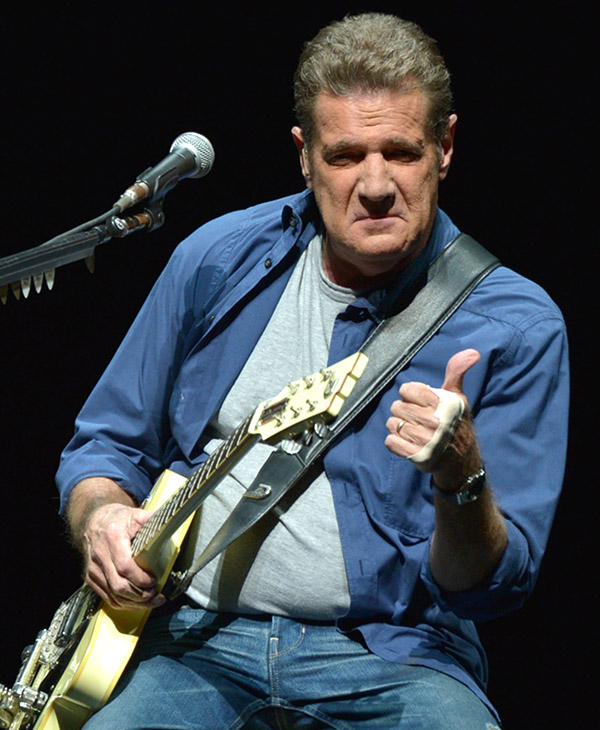 <div class='meta'><div class='origin-logo' data-origin='none'></div><span class='caption-text' data-credit='AP'>Glenn Frey, a founding member of the Eagles, died Jan. 18, 2016. He was 67 years old.</span></div>
