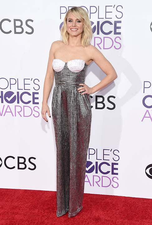 "<div class=""meta image-caption""><div class=""origin-logo origin-image none""><span>none</span></div><span class=""caption-text"">Kristen Bell arrives at the People's Choice Awards at the Microsoft Theater on Wednesday, Jan. 18, 2017, in Los Angeles. (Jordan Strauss/Invision/AP)</span></div>"