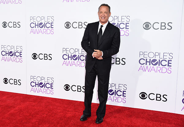 "<div class=""meta image-caption""><div class=""origin-logo origin-image none""><span>none</span></div><span class=""caption-text"">Tom Hanks arrives at the People's Choice Awards at the Microsoft Theater on Wednesday, Jan. 18, 2017, in Los Angeles. (Jordan Strauss/Invision/AP)</span></div>"