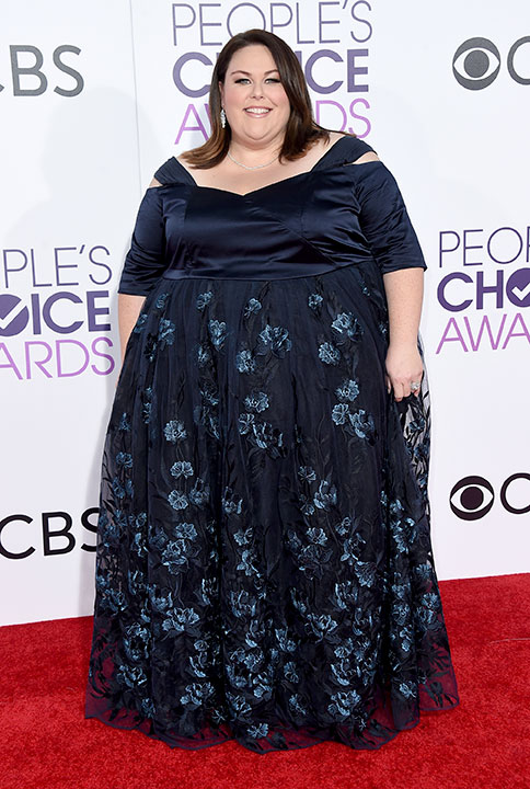 "<div class=""meta image-caption""><div class=""origin-logo origin-image none""><span>none</span></div><span class=""caption-text"">Chrissy Metz arrives at the People's Choice Awards at the Microsoft Theater on Wednesday, Jan. 18, 2017, in Los Angeles. (Jordan Strauss/Invision/AP)</span></div>"