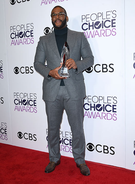 "<div class=""meta image-caption""><div class=""origin-logo origin-image none""><span>none</span></div><span class=""caption-text"">Tyler Perry poses in the press room with the award for favorite humanitarian at the People's Choice Awards at the Microsoft Theater on Wednesday, Jan. 18, 2017. (Jordan Strauss/Invision/AP)</span></div>"