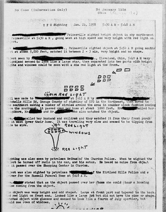 <div class='meta'><div class='origin-logo' data-origin='none'></div><span class='caption-text' data-credit='U.S. Air Force, via The Black Vault'>More than 130,000 pages of declassified documents relating to UFOs from the U.S. Air Force have been published online for the first time in history.</span></div>