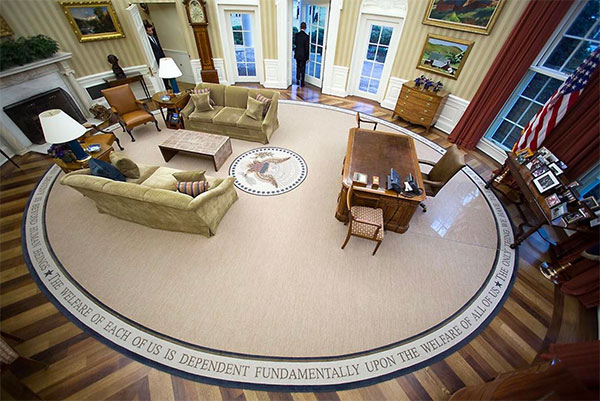 <div class='meta'><div class='origin-logo' data-origin='none'></div><span class='caption-text' data-credit='Pete Souza/Instagram'>Pete Souza captioned this, ''President Obama leaves the Oval Office this morning for the last time. What a great experience I've had the past eight years.''</span></div>