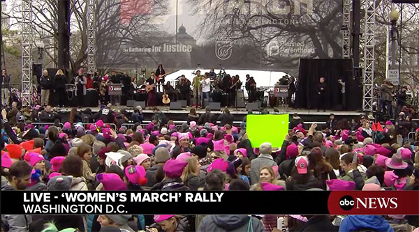<div class='meta'><div class='origin-logo' data-origin='none'></div><span class='caption-text' data-credit=''>Crowds gather at a rally preceding the Women's March on Washington in Washington, D.C.</span></div>