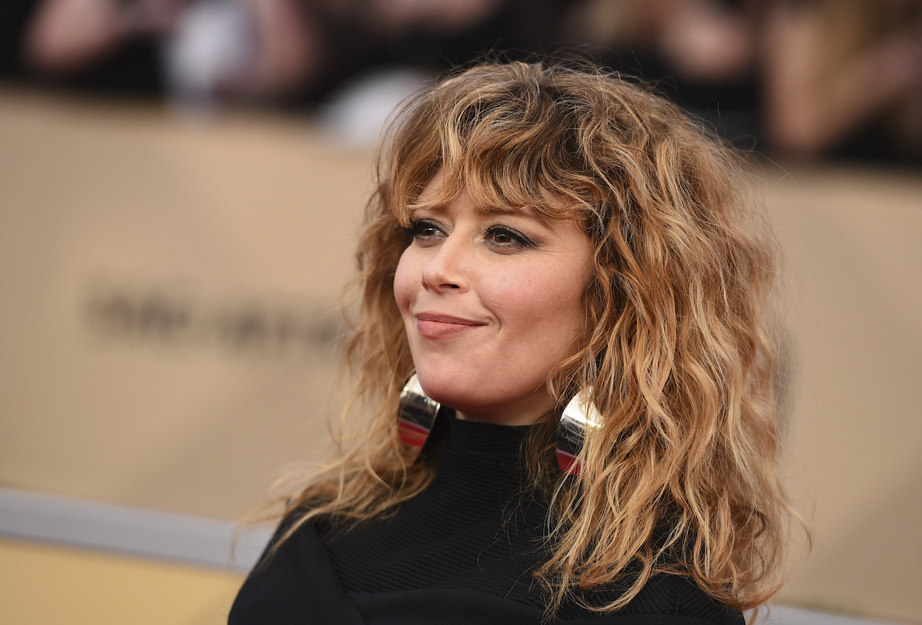 <div class='meta'><div class='origin-logo' data-origin='AP'></div><span class='caption-text' data-credit='Jordan Strauss/Invision/AP'>Natasha Lyonne arrives at the 24th annual Screen Actors Guild Awards at the Shrine Auditorium & Expo Hall on Sunday, Jan. 21, 2018, in Los Angeles.</span></div>