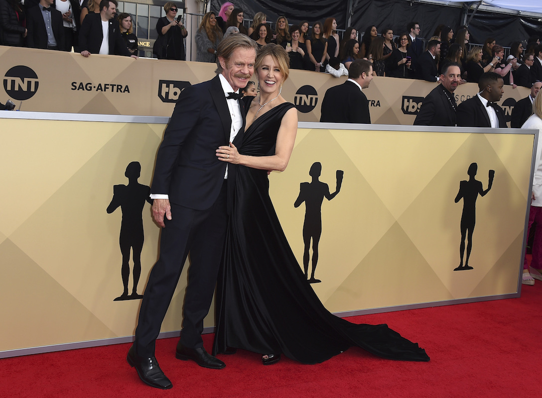 <div class='meta'><div class='origin-logo' data-origin='AP'></div><span class='caption-text' data-credit='Jordan Strauss/Invision/AP'>William H. Macy, left, and Felicity Huffman arrive at the 24th annual Screen Actors Guild Awards at the Shrine Auditorium & Expo Hall on Sunday, Jan. 21, 2018, in Los Angeles.</span></div>