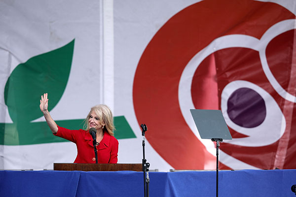 "<div class=""meta image-caption""><div class=""origin-logo origin-image none""><span>none</span></div><span class=""caption-text"">Kellyanne Conway, counselor to President Donald Trump, addresses a rally on the National Mall before the start of the 44th annual March for Life January 27, 2017. (Chip Somodevilla/Getty Images)</span></div>"