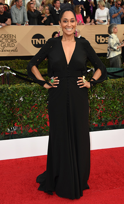 "<div class=""meta image-caption""><div class=""origin-logo origin-image none""><span>none</span></div><span class=""caption-text"">Tracee Ellis Ross arrives at the 23rd annual Screen Actors Guild Awards at the Shrine Auditorium & Expo Hall on Sunday, Jan. 29, 2017, in Los Angeles. (Jordan Strauss/Invision/AP)</span></div>"