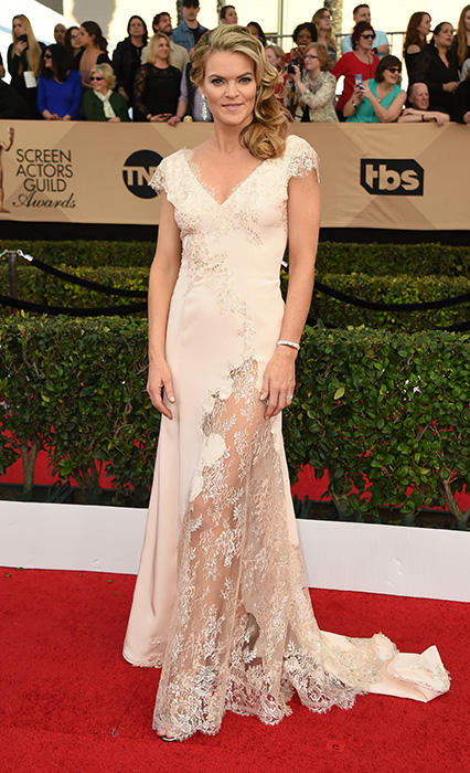 "<div class=""meta image-caption""><div class=""origin-logo origin-image none""><span>none</span></div><span class=""caption-text"">Missi Pyle arrives at the 23rd annual Screen Actors Guild Awards at the Shrine Auditorium & Expo Hall on Sunday, Jan. 29, 2017, in Los Angeles. (Jordan Strauss/Invision/AP)</span></div>"