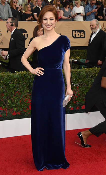 "<div class=""meta image-caption""><div class=""origin-logo origin-image none""><span>none</span></div><span class=""caption-text"">Ellie Kemper arrives at the 23rd annual Screen Actors Guild Awards at the Shrine Auditorium & Expo Hall on Sunday, Jan. 29, 2017, in Los Angeles. (Jordan Strauss/Invision/AP)</span></div>"