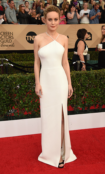 "<div class=""meta image-caption""><div class=""origin-logo origin-image ap""><span>AP</span></div><span class=""caption-text"">Brie Larson arrives at the 23rd annual Screen Actors Guild Awards at the Shrine Auditorium & Expo Hall on Sunday, Jan. 29, 2017, in Los Angeles. (Jordan Strauss/Invision/AP)</span></div>"