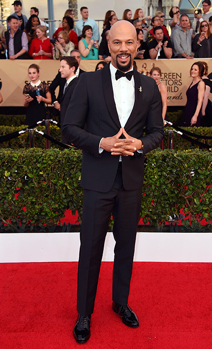 "<div class=""meta image-caption""><div class=""origin-logo origin-image ap""><span>AP</span></div><span class=""caption-text"">Common arrives at the 23rd annual Screen Actors Guild Awards at the Shrine Auditorium & Expo Hall on Sunday, Jan. 29, 2017, in Los Angeles. (Jordan Strauss/Invision/AP)</span></div>"