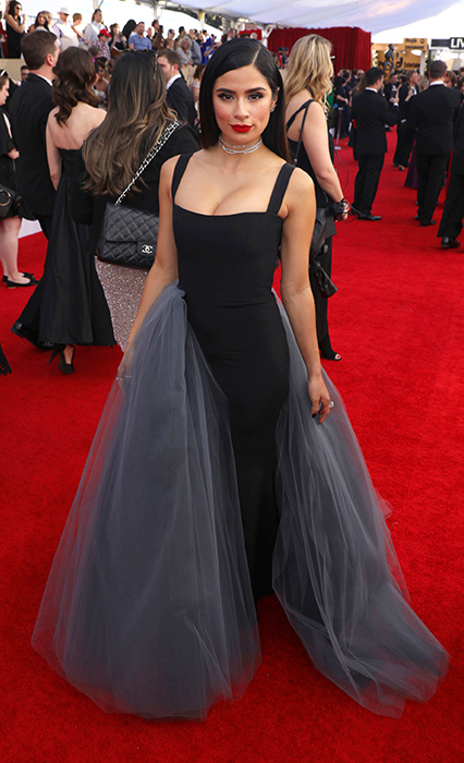 "<div class=""meta image-caption""><div class=""origin-logo origin-image ap""><span>AP</span></div><span class=""caption-text"">Diane Guerrero arrives at the 23rd annual Screen Actors Guild Awards at the Shrine Auditorium & Expo Hall on Sunday, Jan. 29, 2017, in Los Angeles. (Matt Sayles/Invision/AP)</span></div>"
