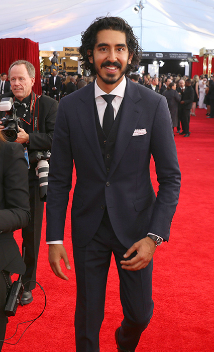 "<div class=""meta image-caption""><div class=""origin-logo origin-image ap""><span>AP</span></div><span class=""caption-text"">Dev Patel arrives at the 23rd annual Screen Actors Guild Awards at the Shrine Auditorium & Expo Hall on Sunday, Jan. 29, 2017, in Los Angeles. (Matt Sayles/Invision/AP)</span></div>"