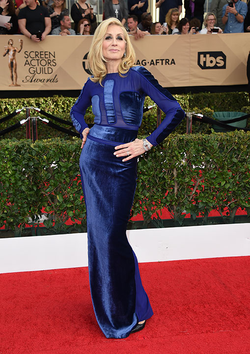"<div class=""meta image-caption""><div class=""origin-logo origin-image none""><span>none</span></div><span class=""caption-text"">Judith Light arrives at the 23rd annual Screen Actors Guild Awards at the Shrine Auditorium & Expo Hall on Sunday, Jan. 29, 2017, in Los Angeles. (Jordan Strauss/Invision/AP)</span></div>"