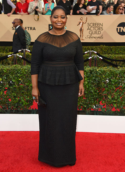 "<div class=""meta image-caption""><div class=""origin-logo origin-image none""><span>none</span></div><span class=""caption-text"">Octavia Spencer arrives at the 23rd annual Screen Actors Guild Awards at the Shrine Auditorium & Expo Hall on Sunday, Jan. 29, 2017, in Los Angeles. (Jordan Strauss/Invision/AP)</span></div>"