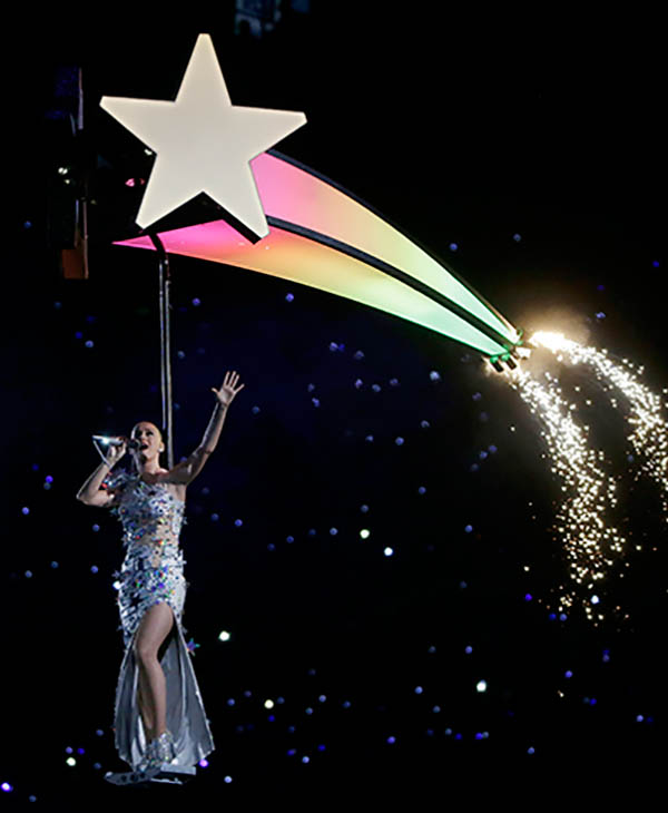 """<div class=""""meta image-caption""""><div class=""""origin-logo origin-image ap""""><span>AP</span></div><span class=""""caption-text"""">Katy Perry performs during halftime of NFL Super Bowl XLIX football game between the Seattle Seahawks and the New England Patriots.</span></div>"""