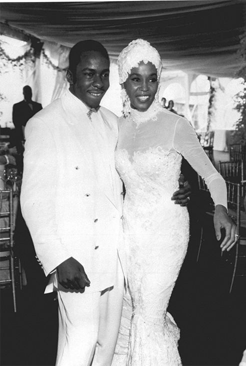 <div class='meta'><div class='origin-logo' data-origin='none'></div><span class='caption-text' data-credit='Photo/AP Photo'>1992: Whitney Houston, right, is seen with her husband Bobby Brown during their wedding.</span></div>