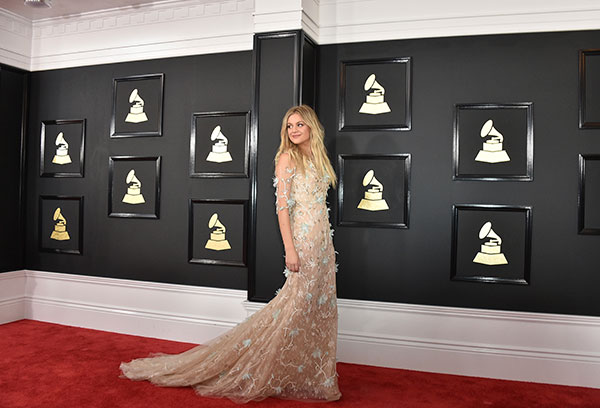 "<div class=""meta image-caption""><div class=""origin-logo origin-image none""><span>none</span></div><span class=""caption-text"">Kelsea Ballerini arrives at the 59th annual Grammy Awards at the Staples Center on Sunday, Feb. 12, 2017, in Los Angeles. (Jordan Strauss/Invision/AP)</span></div>"