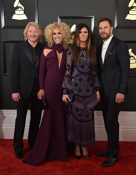 "<div class=""meta image-caption""><div class=""origin-logo origin-image none""><span>none</span></div><span class=""caption-text"">Little Big Town arrives at the 59th annual Grammy Awards at the Staples Center on Sunday, Feb. 12, 2017, in Los Angeles. (Jordan Strauss/Invision/AP)</span></div>"