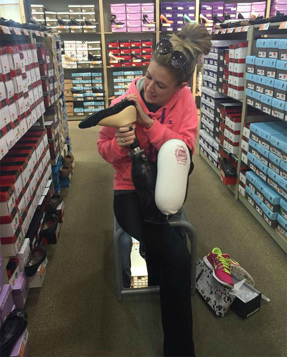 """<div class=""""meta image-caption""""><div class=""""origin-logo origin-image none""""><span>none</span></div><span class=""""caption-text"""">Boston Marathon bombing survivor Rebekah Gregory is fulfilling her dream to become a runner just three months after having her leg amputated. (Rebekah Gregory's New Day New Hope/Facebook)</span></div>"""