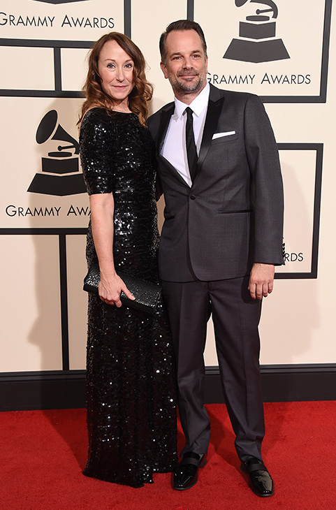 <div class='meta'><div class='origin-logo' data-origin='AP'></div><span class='caption-text' data-credit='Jordan Strauss/Invision/AP'>Sasha Bozzi, left, and Mike Bozzi arrive at the 58th annual GRAMMY Awards at the Staples Center on Monday, Feb. 15, 2016, in Los Angeles.</span></div>