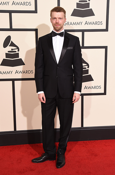 <div class='meta'><div class='origin-logo' data-origin='AP'></div><span class='caption-text' data-credit='Jordan Strauss/Invision/AP'>Andrew Norman arrives at the 58th annual GRAMMY Awards at the Staples Center on Monday, Feb. 15, 2016, in Los Angeles.</span></div>