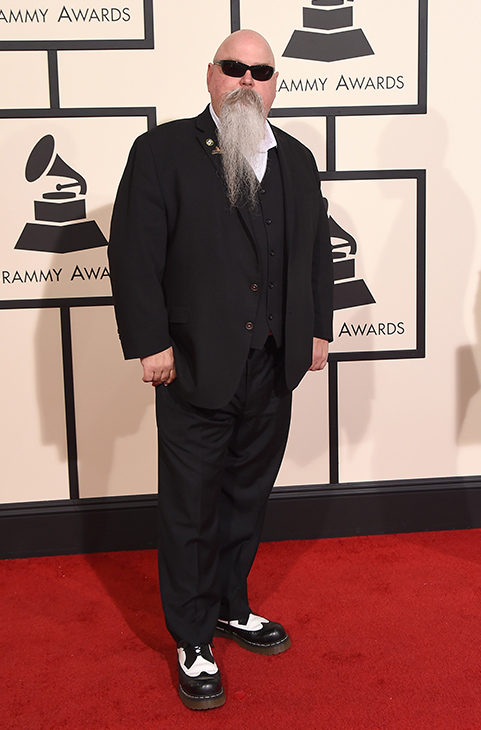 <div class='meta'><div class='origin-logo' data-origin='AP'></div><span class='caption-text' data-credit='Jordan Strauss/Invision/AP'>Vance Powell arrives at the 58th annual GRAMMY Awards at the Staples Center on Monday, Feb. 15, 2016, in Los Angeles.</span></div>