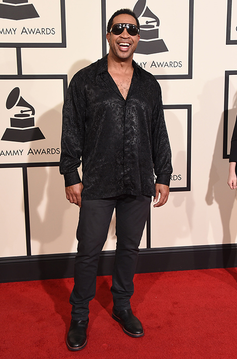 <div class='meta'><div class='origin-logo' data-origin='AP'></div><span class='caption-text' data-credit='Jordan Strauss/Invision/AP'>John Marshal Jones arrives at the 58th annual GRAMMY Awards at the Staples Center on Monday, Feb. 15, 2016, in Los Angeles.</span></div>