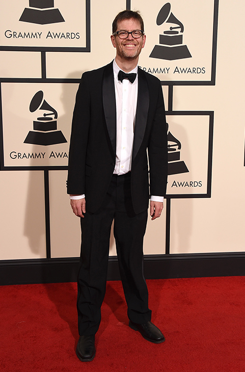 <div class='meta'><div class='origin-logo' data-origin='AP'></div><span class='caption-text' data-credit='Jordan Strauss/Invision/AP'>Donny McCaslin arrives at the 58th annual GRAMMY Awards at the Staples Center on Monday, Feb. 15, 2016, in Los Angeles.</span></div>