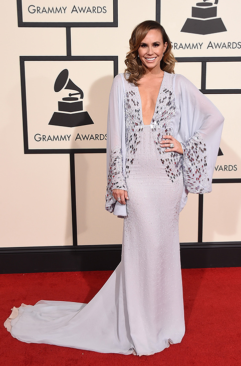 <div class='meta'><div class='origin-logo' data-origin='AP'></div><span class='caption-text' data-credit='Jordan Strauss/Invision/AP'>Keltie Knight arrives at the 58th annual Grammy Awards at the Staples Center on Monday, Feb. 15, 2016, in Los Angeles.</span></div>