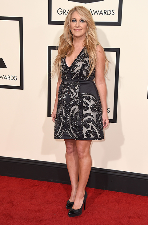 <div class='meta'><div class='origin-logo' data-origin='AP'></div><span class='caption-text' data-credit='Jordan Strauss/Invision/AP'>Lee Ann Womack arrives at the 58th annual Grammy Awards at the Staples Center on Monday, Feb. 15, 2016, in Los Angeles.</span></div>