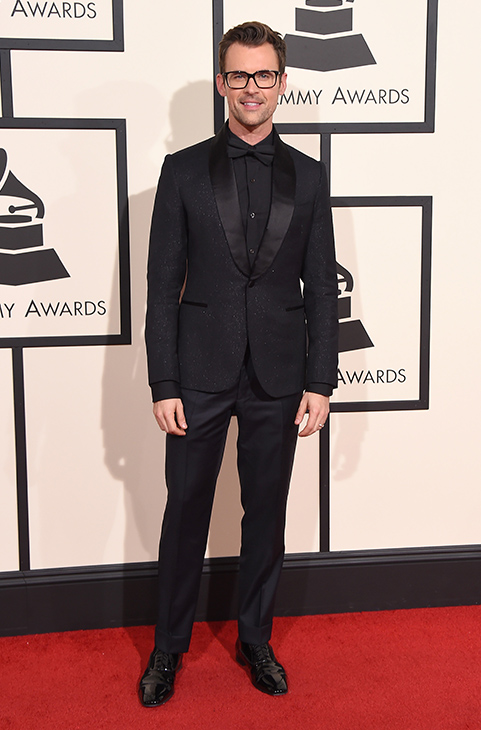 <div class='meta'><div class='origin-logo' data-origin='AP'></div><span class='caption-text' data-credit='Jordan Strauss/Invision/AP'>Brad Goreski arrives at the 58th annual Grammy Awards at the Staples Center on Monday, Feb. 15, 2016, in Los Angeles.</span></div>